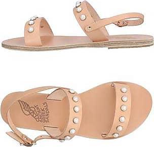 Sandalias de Mujer Baratos en Rebajas, Blanco, Lana, 2017, 37 38 40 Ancient Greek Sandals