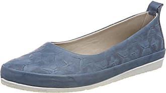 0025783, Bailarinas con Punta Cerrada para Mujer, Azul (Jeans 274), 41 EU Andrea Conti