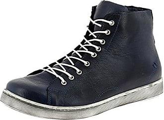 Schnür-Boots 0341500 High-Top Sneaker Schnürstiefelette, Schuhgröße:37, Farbe:Braun Andrea Conti