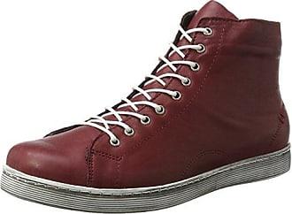 0344595, Zapatillas Altas para Mujer, Rojo (Bordo 024), 37 EU Andrea Conti