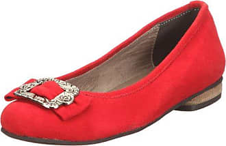 Geklin, Ballerines Femme - Rouge - Rot (Tessi Red 651), 40.5 EUFrench Connection