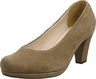 1005718, Zapatos de Tacón con Punta Cerrada para Mujer, Marrón (Taupe 066), 35 EU Andrea Conti