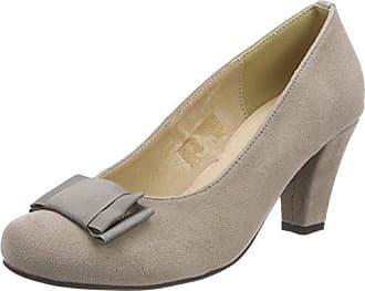 3002723, Zapatos de Tacón con Punta Cerrada para Mujer, Negro (Schwarz 002), 38 EU Hirschkogel