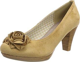 0733109, Zapatos de Tacón con Punta Abierta para Mujer, Rojo (Bordo 024), 42 EU Andrea Conti