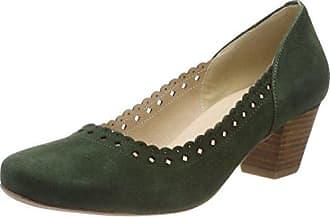 3001514, Zapatos de Tacón con Punta Cerrada para Mujer, Verde (Tanne 147), 42 EU Hirschkogel