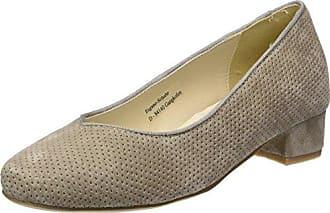 3003413, Zapatos de Tacón con Punta Cerrada para Mujer, Beige (Taupe 066), 36 EU Hirschkogel
