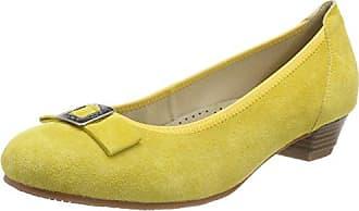 Hirschkogel 3004550, Chaussures Avec Fermé Pour Femme, Pointe Jaune (gelb 051), 36 Eu
