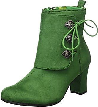 Zapatos verdes Chuva para mujer dKhCOak