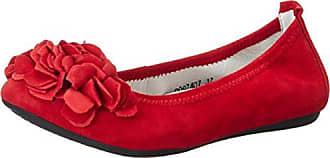 Christl, Ballerines Fermées Femmes - Rouge - Rouge, Taille 37 EUBergheimer Trachtenschuhe