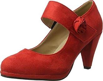 NOE AntwerpNipola - Zapatos de Tacón Mujer, Color Rojo, Talla 38.5 EU Noë Antwerp
