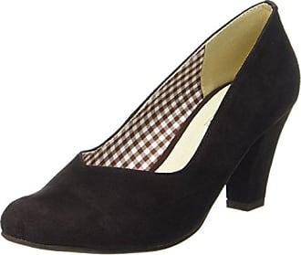 3000507, Zapatos de Tacón con Punta Cerrada para Mujer, Gris (Taupe 066 066), 35 EU Hirschkogel