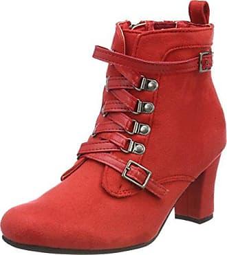 1462726, Zapatillas de Estar por Casa para Mujer, Rojo (Bordo 024), 37 EU Andrea Conti