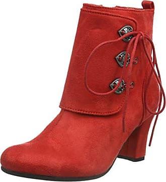 Hirschkogel 3617400, Bottes Classiques femme - Rouge - Rot (Rot 021), 36 EU