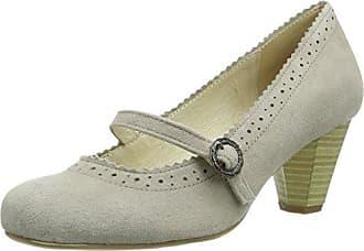 Hirschkogel by Andrea Conti 3000518, Zapatos de Tacón Cerrados, de Material Sintético, para Mujer, Marrón (Taupe 066), Talla 38 Andrea Conti