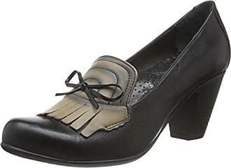 Andrea Conti 1550500, Chaussures À Talons Fermés Pour La Pointe Des Femmes, Noir, 37 Eu