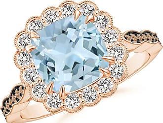 Angara Brown Diamond Cluster Halo Ring in Platinum - Angaras Coffee Diamond 53d56ixIZ