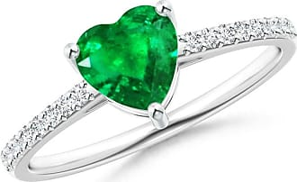 Angara Heart and Soul Ruby Ring in Platinum KFELZf6i