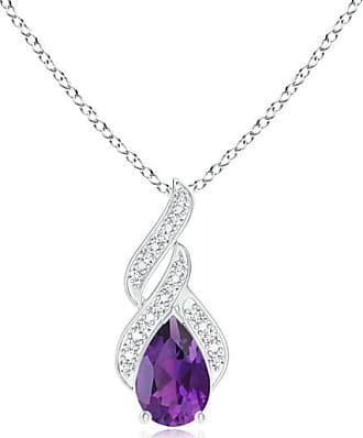 Angara Brown and White Diamond Infinity Pendant - Angaras Coffee Diamond pJCkjElL