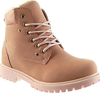 Angkorly - damen Schuhe Stiefeletten - Combat Boots - Biker - Schneestiefel - Nieten - besetzt - Pelz Blockabsatz 2.5 CM - Schwarz RW763 T 40 a53ptFL