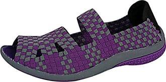 Damen Beiläufig Leicht Gewebte Schuhe Atmungsaktiv Sandalen Strand Hausschuhe Lässige Schuhe Schwarz 38 Anguang E2I2aGz