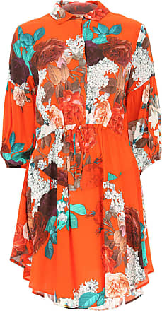 Dress for Women, Evening Cocktail Party On Sale, Orange, viscosa, 2017, 10 Aniye By