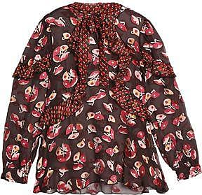 Buy Cheap Newest Anna Sui Woman Ruffled Floral-print Cloqu Brand New Unisex Online Z1hvmbNh7z