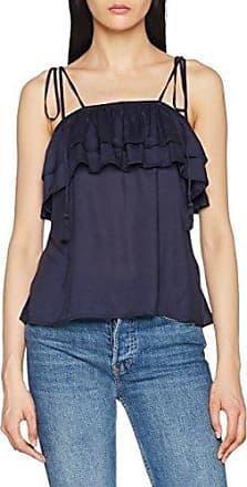 Bogner Jeans Basic Tank Top, Camiseta sin Mangas para Mujer, Azul (Indigo 550), L