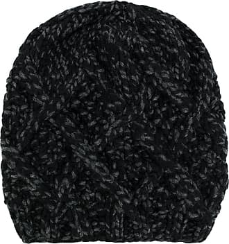Hat for Women On Sale in Outlet, Black, Acrylic, 2017, Universal Size Armani Jeans
