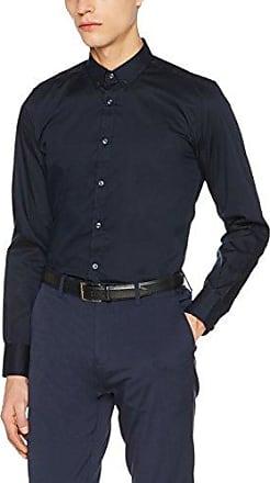 MMSS00135, Camisa Casual para Hombre, Azul (Navy BLU), Small Antony Morato
