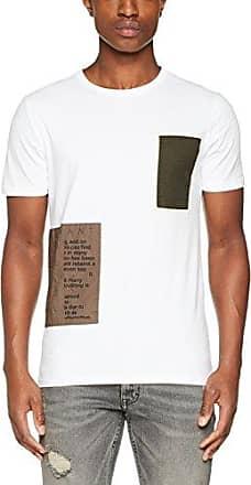MMKS01217, Camiseta para Hombre, Blanco (Bianco), Small Antony Morato