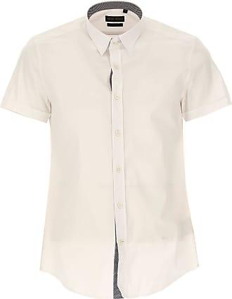 Shirt for Men On Sale in Outlet, Blue Denim, Cotton, 2017, XS - IT 44 Antony Morato