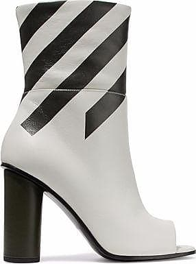 Anya Hindmarch Woman Striped Metallic Ankle Boots Size 35 MuSyG2DAX