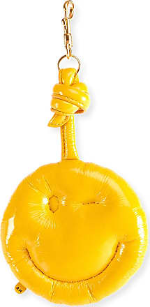 Yellow Chubby Wink Charm Keychain Anya Hindmarch OZNBs9SF