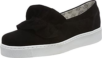 Apple of Eden Damen Queen Slip on Sneaker, Schwarz (Black), 42 EU