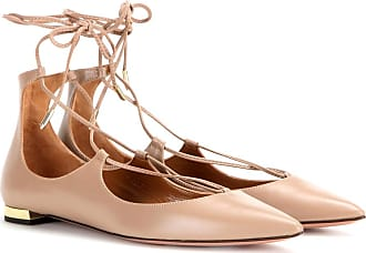 Sandals for Women On Sale in Outlet, Whisky, Leather, 2017, 7 Aquazzura