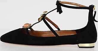PANDORA FLAT Ballet Flat with Jewel Details Spring/summer Aquazzura PVD5KFX
