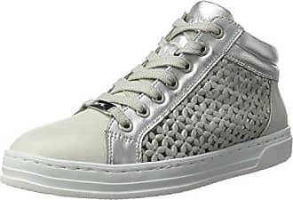 Cour Ara, Zapatillas Para Mujer, Gris (chiara, Platin / Weiss) 42,5 I (8,5 Uk)