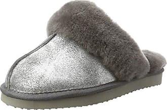 ara Damen Cosy Pantoffeln, Beige (Taupe-Metallic), 40 EU
