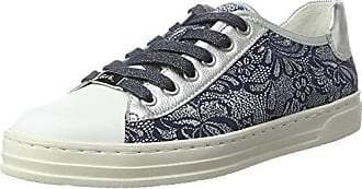 Courtyard, Basses Femme - Multicolore (Silber,Weiss/Multi), 37 EU (4 UK)Ara