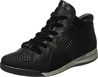 Ara ROM-Stf 12-44465 Zapatillas Altas Mujer, Schwarz (Schwarz,Piombo), 37.5 EU (4.5 UK)