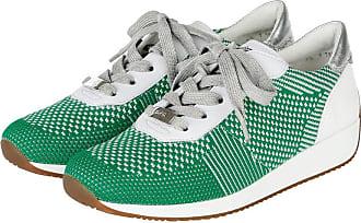 Chaussure À Lacets Ara Vert / Blanc Nr0u7M