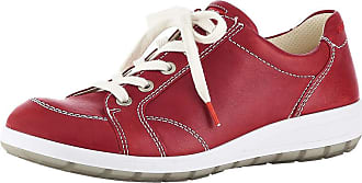 Chaussure À Lacets Ara Ara Rouge vy96skfrw