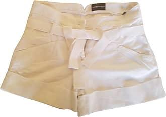 gebraucht - Shorts - DE 34 - Damen - Weiß - Baumwolle Armani