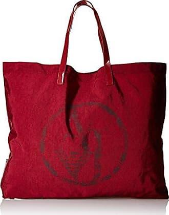 Damen 922552CC861 Shopper, Rot (Bordeaux 00176), 55x40x9 cm Armani Jeans