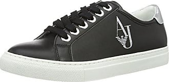 9252207p610, Sneakers Basses Femme - Multicolore (Nero), 36 EUEmporio Armani