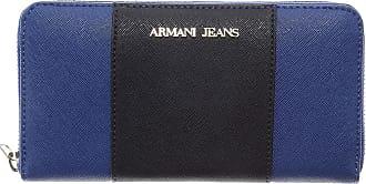 Porte-monnaie Pour Les Femmes En Vente, Bleu, Cuir, 2017, Une Taille Jeans Armani