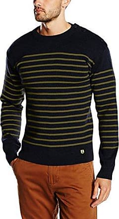 Pull Marin Heritage, Jersey para Hombre, Azul (Rich Navy/YUCCA/Nature L6P), L Armor Lux