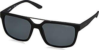 Arnette Unisex-Erwachsene Sonnenbrille 0AN4227 01/87, Schwarz (Matte Black/Gray), 57