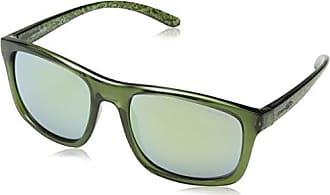 Arnette 0AN4234 2476N0, Montures de Lunettes Homme, Vert (Transparent Green/Greenmirror), 61