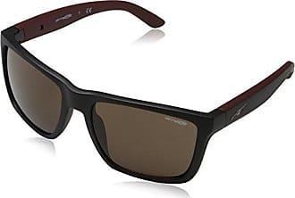 Arnette Unisex-Erwachsene Sonnenbrille 0AN4222 237573, Braun (Matte Dark Havana/Brown), 54